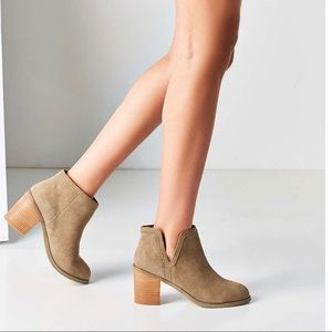 Urban Outfitters Anthropologie Maude Suede Boots